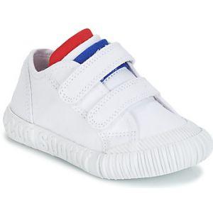 Le Coq Sportif Baskets basses enfant NATIONALE INF blanc - Taille 21,22,23,24,25,26,27