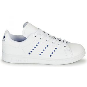 Adidas Chaussures enfant STAN SMITH J - Couleur 36,38,36 2/3,37 1/3,38 2/3,35 1/2 - Taille Blanc