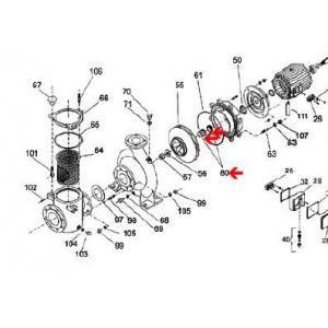 Procopi 627701 - Garniture mécanique de pompe PSH (Ø36 mm)
