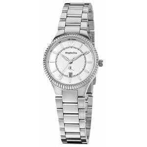Orphelia OR22270188 - Montre Femme - Quartz Analogique - Cadran Blanc - Bracelet Acier Argent