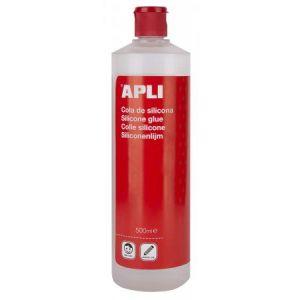 APLI 17409 - Flacon de colle silicone, 500 ml