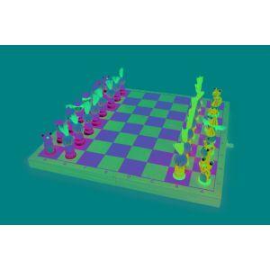 Legler 6084 - Jeu d'échecs Chevaliers