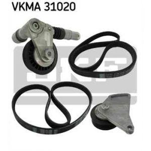 SKF Kit de courroies d'accessoires VKMA31020