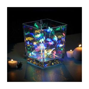 Guirlande lumineuse Étoile Micro LED Blanc chaud 40 LED