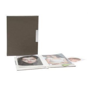 Deknudt Frames S65BP9 Album pour 24 Photos Imitation Cuir Taupe 10 x 15 cm