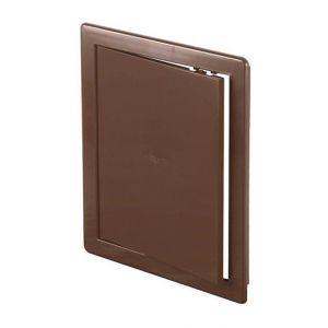 Awenta 200x300mm ABS brun en plastique durable panneau d'inspection trappe mur porte d'accès