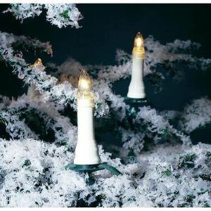 Konstsmide Guirlande de sapin avec ampoule à visser (16 lampes)