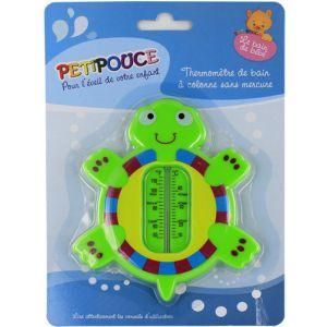 Estipharm Petipouce - Thermomètre de bain tortue pour enfant