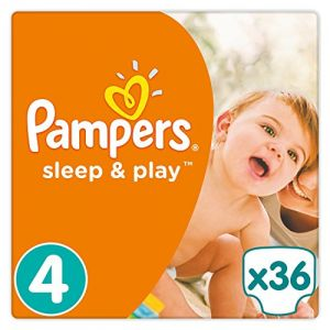 Pampers Sleep & Play taille 4 (8-16 kg) - 36 couches
