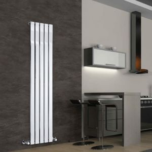 hudson reed radiateur design vertical chrom delta 160 cm x 37 5 cm x 13 3 cm 492 watts. Black Bedroom Furniture Sets. Home Design Ideas