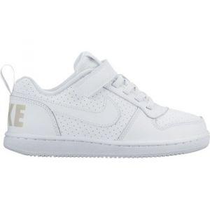 Nike Court Borough Low (PSV), Chaussures de Basketball Garçon, Bianco (White/White), 29.5 EU