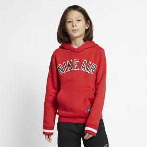 Nike Sweatà capuche en tissu Fleece Air pour Garçon plus âgé - Rouge - Couleur Rouge - Taille XS
