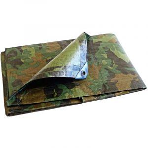 Bâches Direct Bâche protection agricole Camouflage 150 g/m² - 3.6 x 5 m - serre tunnel - bâches étanches - bache imperméable