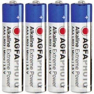 AgfaPhoto Pack de 4 piles LR 03 Micro