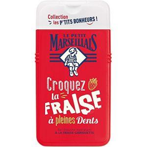 Image de Le Petit Marseillais Collection Les P'tits Bonheurs : Croquez la Fraise à pleine Dents - Gel douche Hydratant
