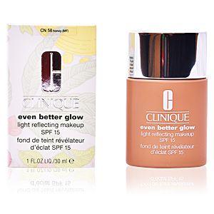 Clinique Even better glow 58 Honey - Fond de teint révélateur d'éclat SPF 15
