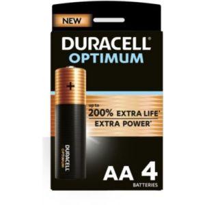 Duracell Pile AA x4 Optimum