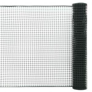 VidaXL Maille de clôture de jardin PEHD 25x1,2 m Vert