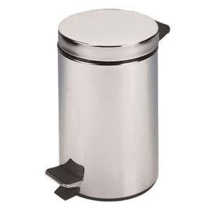 Rossignol (collecte déchets & hygiène) Poubelle à pédale Cyjeu pour salle de bain (3 L)