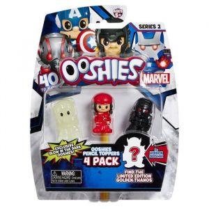 Vivid Marvel Ooshies Pack de 4 - Mix 4