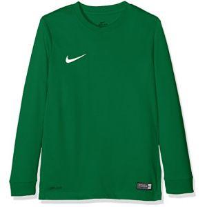 Nike 725970-302 Haut à Manches Longues Enfant Pine Green/White FR : L (Taille Fabricant : L)