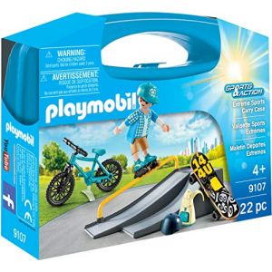 Playmobil 9107 - Valisette Sports Extrêmes Sports & action