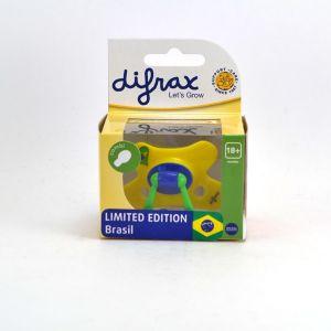 Difrax Sucette réversible Combi Brésil (taille aléatoire)