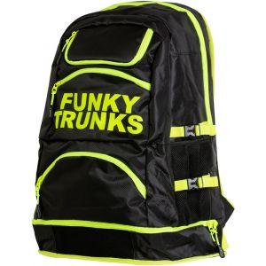 Funky Trunks Elite Squad - Sac à dos natation - jaune/noir Accessoires natation