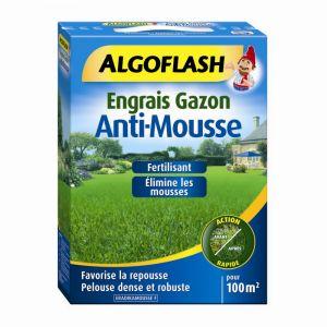 Algoflash Engrais Gazon Anti mousse 3 kg