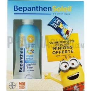 Bayer BepanthenSoleil - Spray solaire enfant FPS 50 Minions 200 ml
