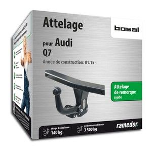 Bosal Attelage ''col de cygne'' démontable avec outils 049-641
