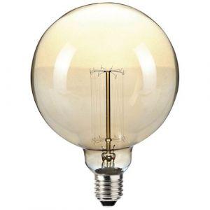 Sylvania Ampoule incandescence vintage globe 60W E27 D:120mm - Incandescente sphérique, globe