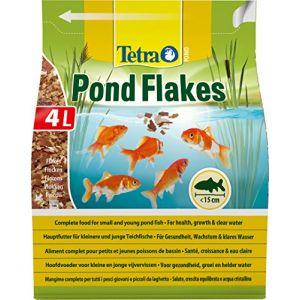 Tetra Alimentation Pond Flakes pour poissons de bassin 4 litres