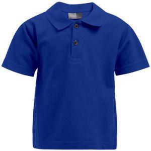 Promodoro Premium Polo Enfants, 140, bleu roi