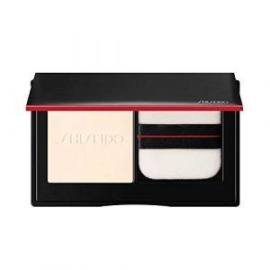 Shiseido Synchro Skin - Poudre Compacte Soyeuse Invisible - Naturel Mat - Transparent