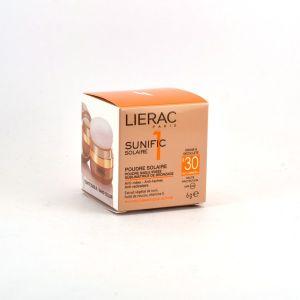 Lierac Sunific - Poudre solaire SPF30 sable irisée 6g