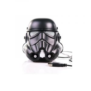 Bee&See Enceinte Bluetooth Star Wars Rogue One Casque de  Shadow Trooper