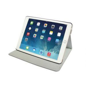 Temium Housse et étui pour tablette Etui folio gris pour iPad Pro 9,7