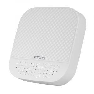 WeWoo Enregistreur vidéo numérique 1080P 8CH + 2CH ONVIF NVR avec canal Cloud 2CH pour système de caméra IP blanc