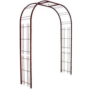Louis Moulin Arche Premium décor treillage en fer vieilli