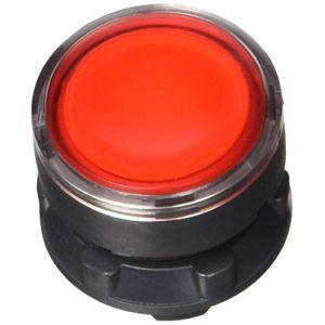Schneider Electric Harmony tête de bouton poussoir lumineux - Ø22 - rouge - ZB5AW343