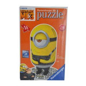 Ravensburger Moi, Moche et Méchant 3 Stuart - Puzzle 3D 54 pièces
