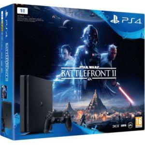 Sony PS4 Slim 1 To + Star Wars Battlefront II
