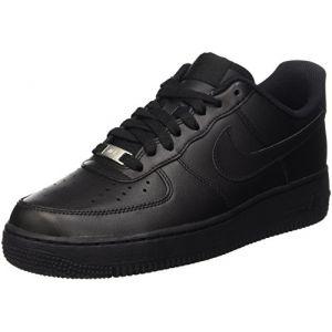 Nike Chaussure de basket-ball Chaussure Air Force 1'07 pour Femme - Noir Taille 39