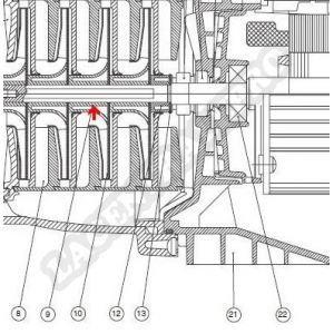 Procopi 977215 - Bague de diffuseur de surpresseur Multipool