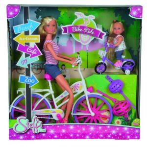 Simba Toys Steffi Love promenade à vélo + Evi