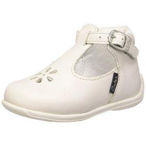 Aster Odjumbo, Chaussures Premiers Pas bébé Fille, Blanc, 21 EU