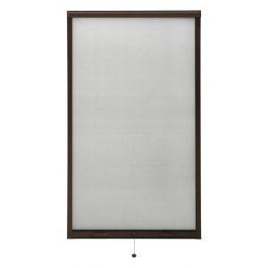 VidaXL Moustiquaire à rouleau pour fenêtres Marron 90x170 cm