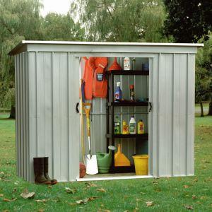 Yardmaster 64PZ - Abri de jardin en métal 1,91 m2