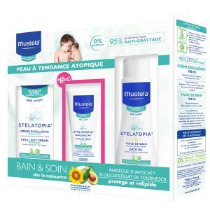 Mustela Coffret Bain & Soin peau à tendance atopique